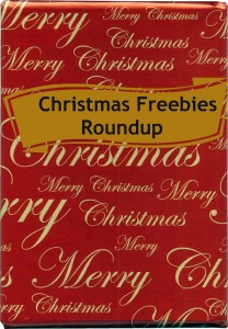 Christmas Freebies Roundup