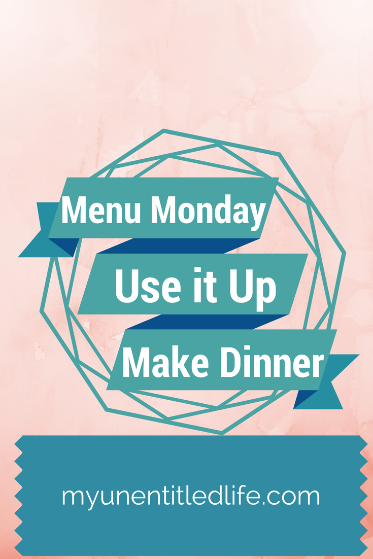 menu monday use it up