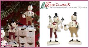 Snowmen Tree Classics Giveaway 12/15 US/CA #SnowmanDuet