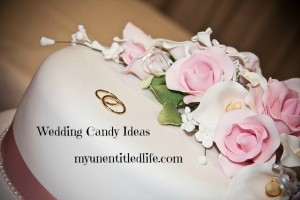 Personalised Wedding Candy Adds Special Touch