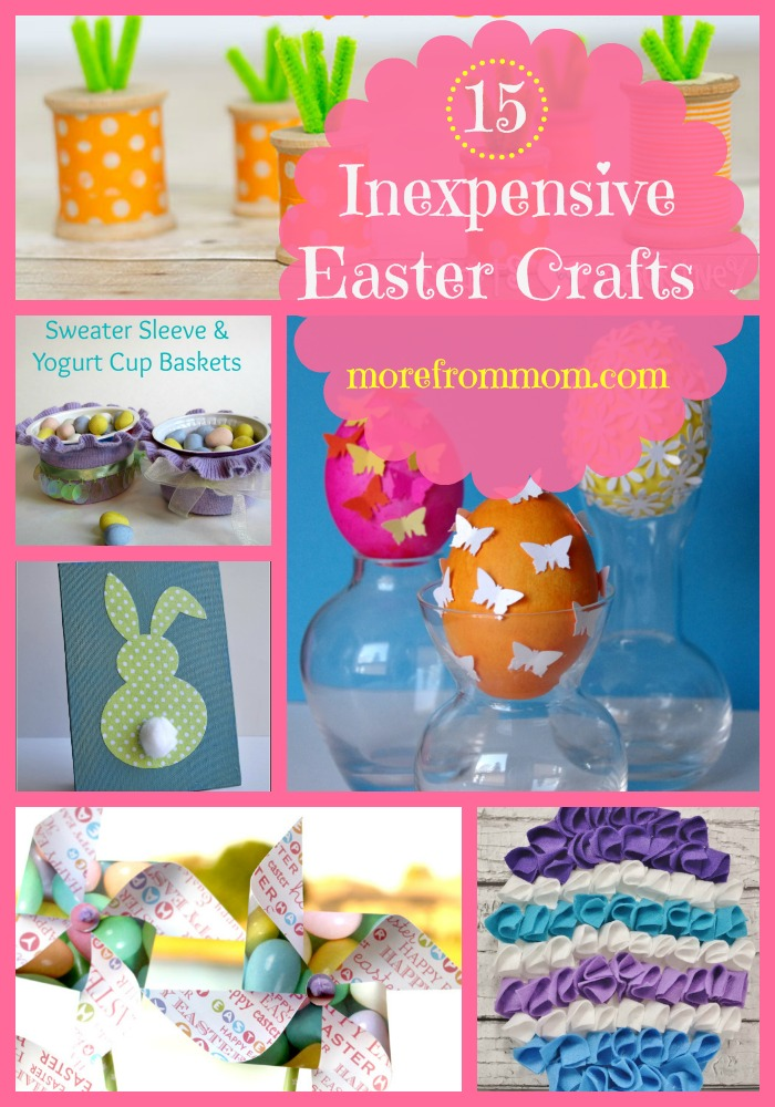 15 Inexpensive Easter Crafts