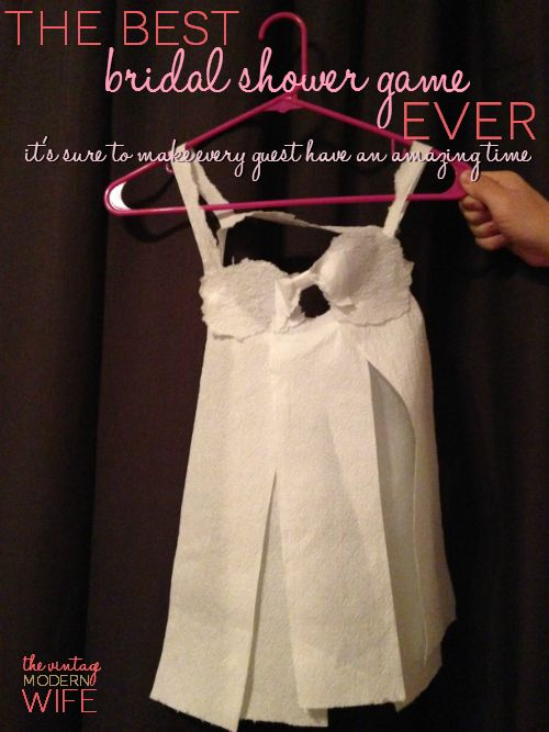 toilet paper lingerie game
