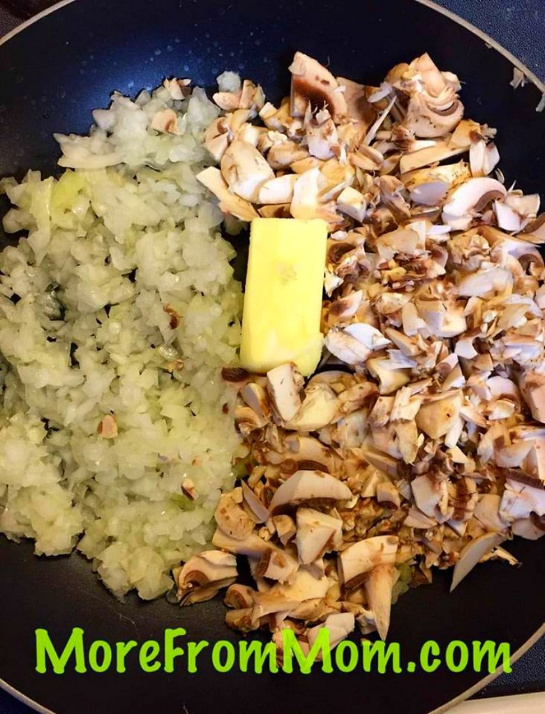 Butter Onions Mushrooms