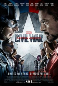 CAPTAIN AMERICA CIVIL WAR IN THEATERS MAY 6TH!!!