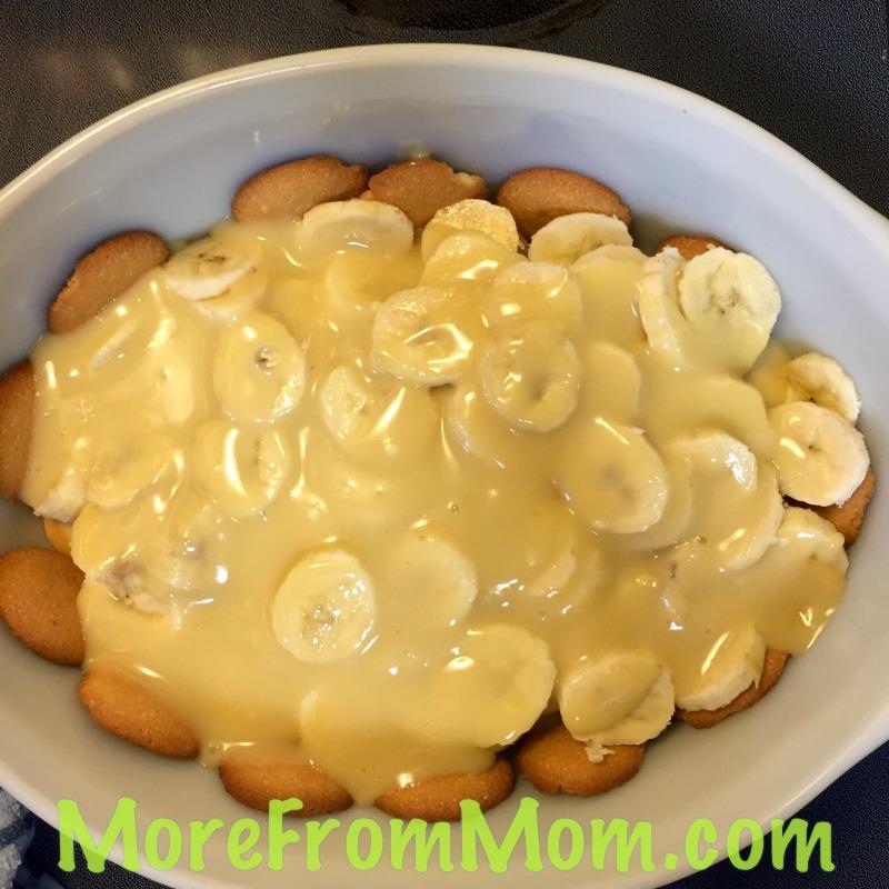 NP Add half pudding
