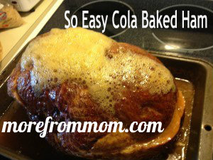 cola baked ham