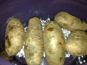 Baked Potatoes not baked in the oven!
