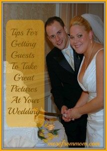Tips for Getting Guests To Take Great Pictures at your Wedding