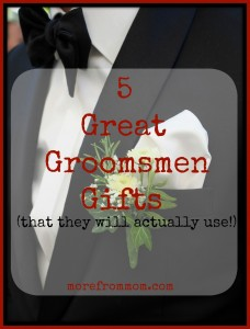 5 Great Groomsmen Gifts (That They Will Actually Use!)