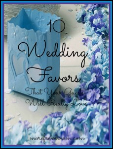 10 Wedding Favors That Your Guests Will Really Love