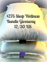 Tired of waking up tired? Maybe its your pillows? Giveaway here!!